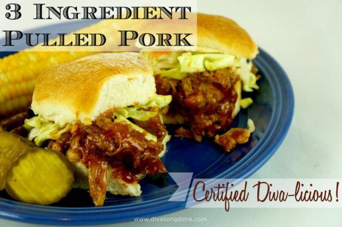 Ingredient Pulled Pork | The BEST Easy Crockpot Pulled Pork ...