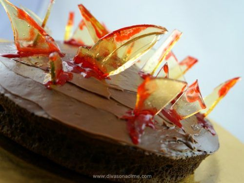 Edible Glass Shards