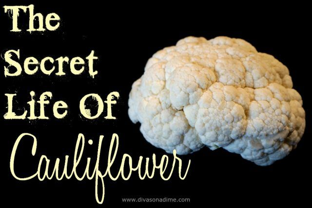The Secret Life of Cauliflower! Easy to follow recipes for cauliflower pizza crust, cauli-rice and fauxtatoes for low carb, paleo, and gluten free diets. You and your family will LOVE these dishes!