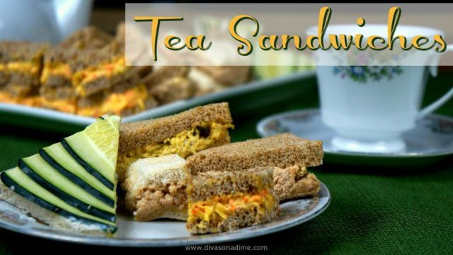 Afternoon tea etiquette and easy tea sandwich recipes.