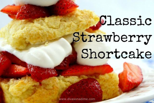 There's nothing better than this classic strawberry shortcake. Easy, goof proof, delicious!